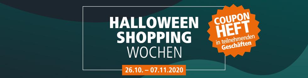 Halloween Shopping Wochen